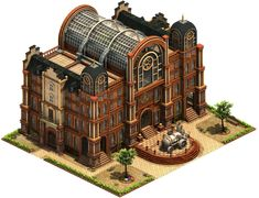 Government building of technology Minecraft Blueprints, Minecraft Designs, Minecraft Buildings, Isometric Art, Isometric Design, Environment Concept Art, Environment Design, Forge Of Empire, Disneysea Tokyo