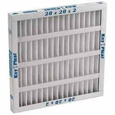 Self-Supported Pleated Filter 12x20x2 by CLARCOR AIR FILTRATION. $2.93. Purolator Self-Supported Pleated Filter 12X20X2 The Key Pleat self supported pleated filter has a MERV 7 rating. The filter is made of 100% synthetic media. The media pack is contained in a single piece beverage board. Self-supported Mark 7 filters eliminate the need for a metal backing to shape the pleats. They are fully incinerable, simplifying disposal.
