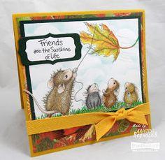 "House-Mouse ""Leaf Kite"" WM Rubber Stamp http://www.ebay.com/itm/262540335844?ssPageName=STRK:MESELX:IT&_trksid=p3984.m1555.l2649"