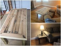 Pallet coffee/end tables