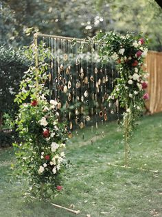 Hand built wedding arch: http://www.stylemepretty.com/2016/09/22/this-wedding-incorporated-smps-favorite-trends-of-the-year/ Photography: Apryl Ann - http://www.aprylann.com/