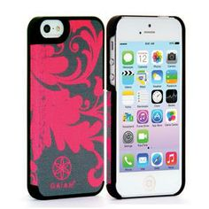 iPhone 5 Fabric Case Filigree Pink