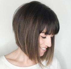 Image result for bob hairstyles with fringe