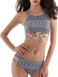 SHARE & Get it FREE   Cut Out High Neck Printed BikiniFor Fashion Lovers only:80,000+ Items • New Arrivals Daily • Affordable Casual to Chic for Every Occasion Join Sammydress: Get YOUR $50 NOW!