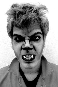 Bryan Varga: Werewolf stage makeup
