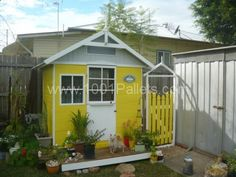 Pallets Chicken House