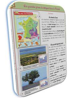 Géographie CM2 séquence 2 : reliefs et climats du monde - la classe de stefany