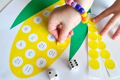10+ Activities To Get Your Preschooler Started On Numbers - Kids Art & Craft