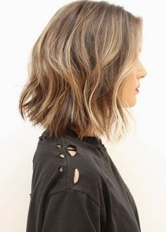 The cool-girl haircut everyone's getting. Ten LOBs we love: