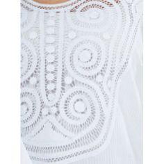 07/007 SALIDA DE BAÑO EN BLUSON EN PATECABRA Y ARAÑA Tapestry, Embroidery, Retro, Pattern, Diy, Romanian Lace, Embroidered Dresses, Crochet Pattern, Shoes Sandals