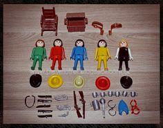 Playmobil - Em busca das caixas perdidas!: Trol - Cowboys e Bandidos 23.24.1