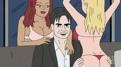 Charlie Sheen (Ugly Americans) Sexy Velma, Ugly Americans, Little Britain, Charlie Sheen, American Dad, Kids Tv, Being Ugly, Dads, Saturday Night