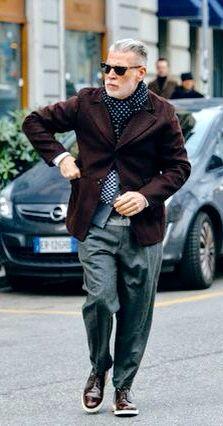Nick Wooster, Urban Street Style, Men's Fall Winter Fashion.