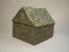 Small Barn Unpainted Resin Thomarillion Terrain Dwarven Forge