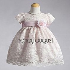 Special Occasion Lace Infant Dress