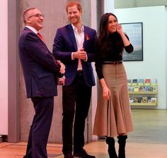 Britain's Prince Harry and Meghan Markle visited Nottingham