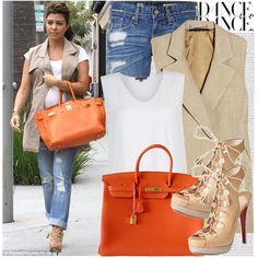 556. Celebrity Style: Kourtney Kardashian,