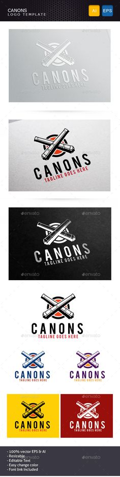 Canons Logo Template - Objects Logo Templates