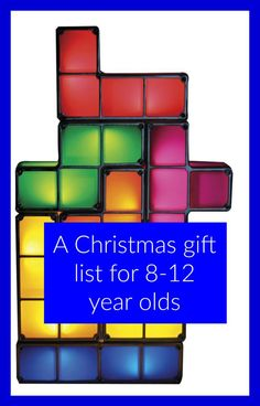 gift list for 8-12 year olds