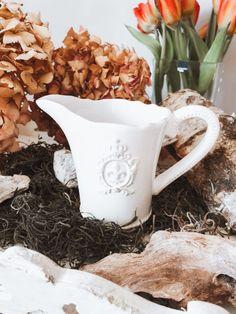 9,95 €   Milchkaraffe Vintage Stil, Shabby Chic, Cottage Chic, Home Decor Accessories, Kleding, Shabby Chic Decorating