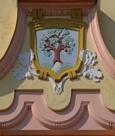 Art Nouveau  Decorative element of the facade of one of the notable Art Nouveau buildings in Jablonec nad Nisou,Czech republic (pfoto: Milan Bajer)
