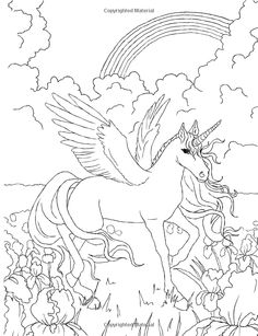 18 Absurdly Whimsical Adult Coloring Pages Kiddlings Pinterest
