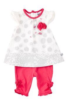 Perfume Diva Tunic & Legging Set (Baby Girls) by Petit Lem on @nordstrom_rack