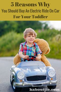 3 Reasons Why You Should Buy An Electric Ride On Car For Your Toddler An electric ride on car just has to be the best gift every for a toddler and here's why! Toddler Car, Toddler Gifts, Gifts For Kids, Kids Ride On Toys, Kids Toys, Thing 1, Balance Bike, Childcare, Early Childhood