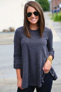 Go ahead and keep it long and sleek - Hip 'Mom' Haircuts You'll Totally Rock - Photos