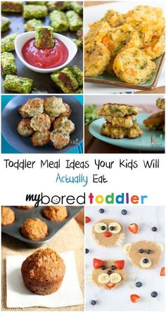 Toddler Meal Ideas that your kids will actually eat! We've found some of the best toddler meal ideas to make your meal time battles easier!