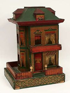 Miniature dollhouse collectors enjoyed steep discounts at a recent Dargate Auction Gallery sale of antique toys.