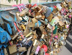 A look at 16 love lock bridges from all around the world this Valentine's Day, from Paris and Rome to Amsterdam, NYC and Newcastle!