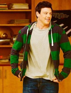 Cory Monteith as Finn Hudson Finn Glee, Cory Glee, Glee Cory Monteith, Rachel And Finn, Lea And Cory, Glee Cast, It Cast, Finn Hudson, Rachel Berry