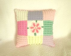 Sweet and Soft Vintage Chenille Pillow  Easter by SURELYCHENILLE, $34.50