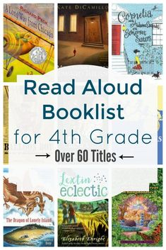 {Book List} 4th Grade Read Alouds | Lextin Eclectic