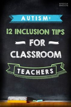 Autism: 12 Inclusion Tips for Classroom Teachers Autism: 12 Inclusion Tips for Classroom Teachers Guest post by Speech Sprouts Inclusion Classroom, Autism Classroom, Special Education Classroom, Future Classroom, Classroom Ideas, Inclusion Teacher, Special Education Inclusion, Classroom Inspiration, Kindergarten Classroom