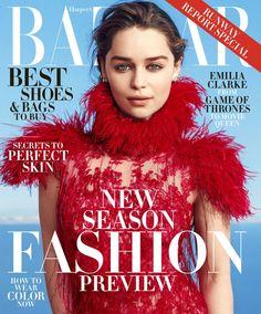 Emilia Clarke by Norman Jean Roy for Harper's Bazaar US June/July 2015