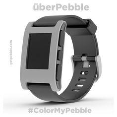 """@jecoffey: Whoo. A stylish light-grey called 'überPebble.'"""