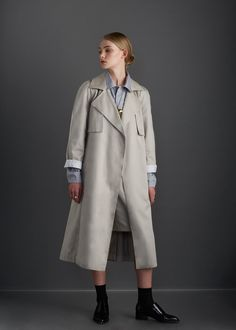 kowtow - 100% certified fair trade organic cotton clothing - Keepsake Trench