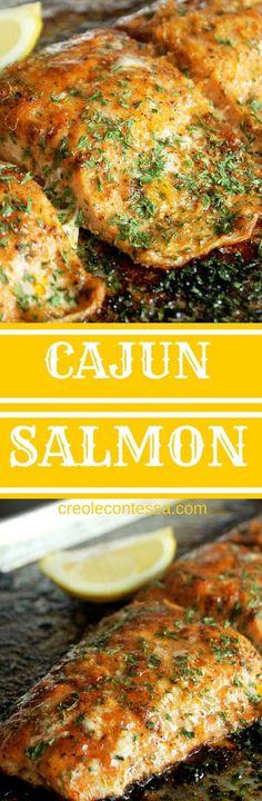 Get the recipe ♥ Cajun Salmon @recipes_to_go