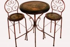 bistro table and chairs - Google Search