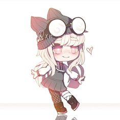 Art Drawings Sketches Simple, Kawaii Drawings, Cute Drawings, Anime Neko, Otaku Anime, Kawaii Anime, Cute Girl Outfits, Club Outfits, Shining 2