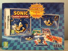Sonic Classic Collection box.