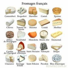 Fromages françaises / French cheese #France #cheese