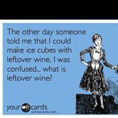 Wie heeft dan wijn over?  door JH