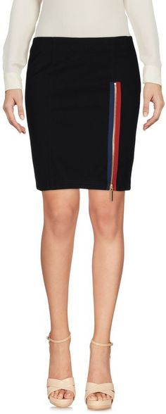 ANTHONY VACCARELLO NOIR Knee length skirts