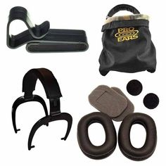 Pro Ears Reconditioning Kit for Stalker, Sporting Clay & Pro Tac SC models. While Pro Ears are built to last due to extensive use many customers. Sporting Clays, Hearing Protection, Ears, Kit, Sports, Hs Sports, Trap Shooting, Ear, Sport