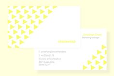 Modern Clean Business Card by Tahsin Tahil on Creative Market