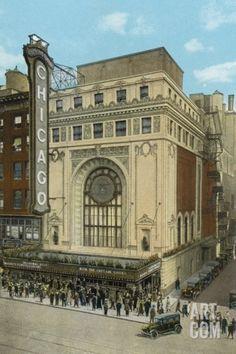 Chicago Theatre Photographic Print