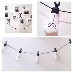 Festoon Filament Light Garland